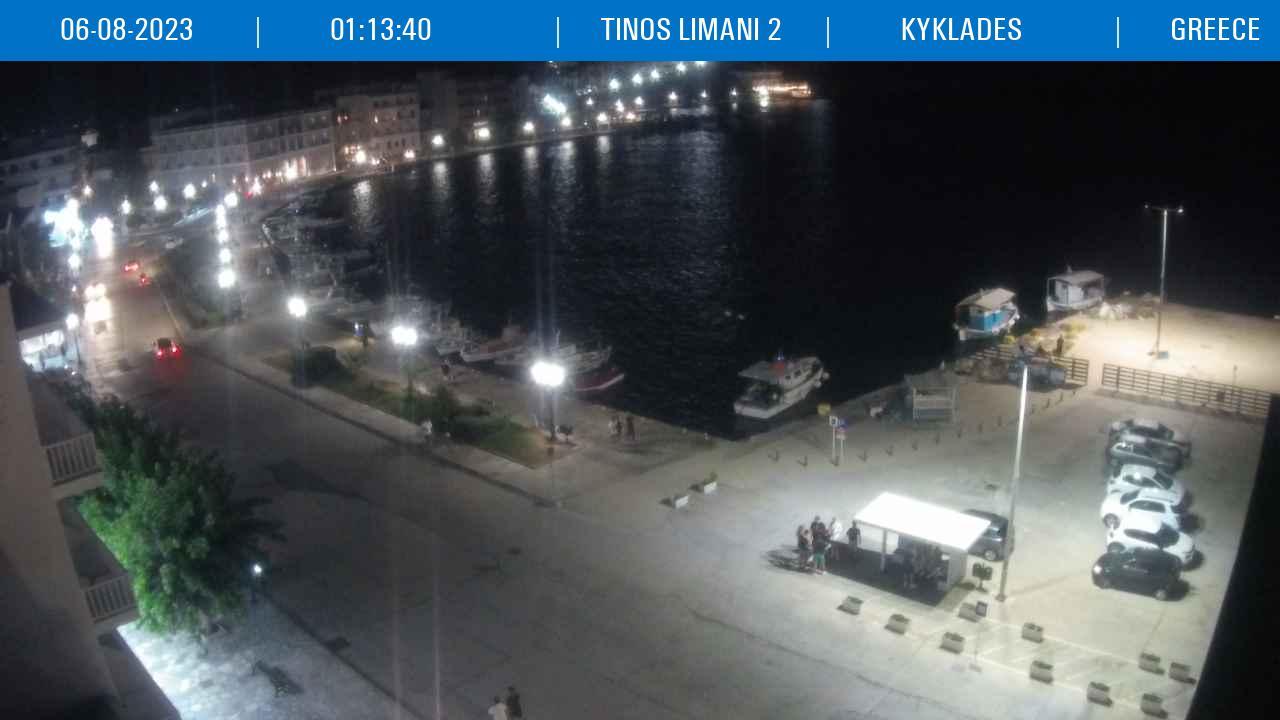 Τυχαία εικόνα από τις κάμερες Λιμάνι Τήνου κάμερα 2